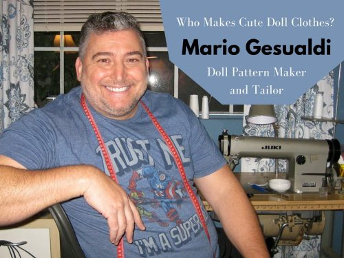 Who Makes Doll Clothes? Doll Tailor Mario Gesualdi Does! (1)
