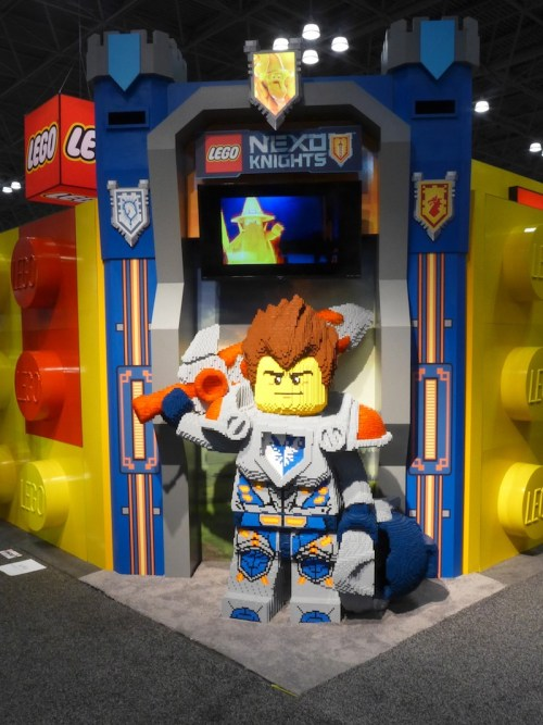 New York Toy Fair: Legos on Display