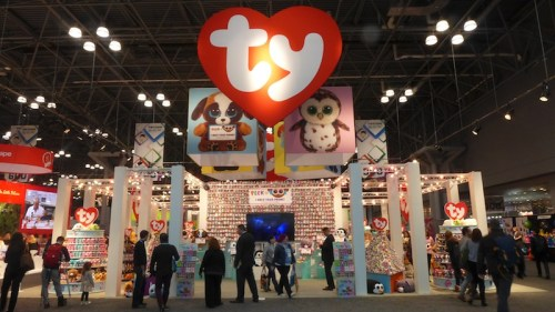 New York Toy Fair: The TY Display