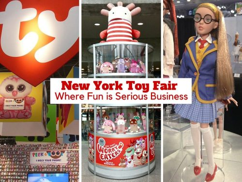 New York Toy Fair: Where Fun is Serious Business
