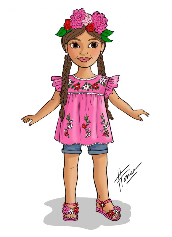BeeYou Hispanic Doll Design