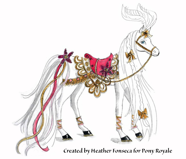 "Pony Royale invention design of ""Little Lady"" by Heather Fonseca"