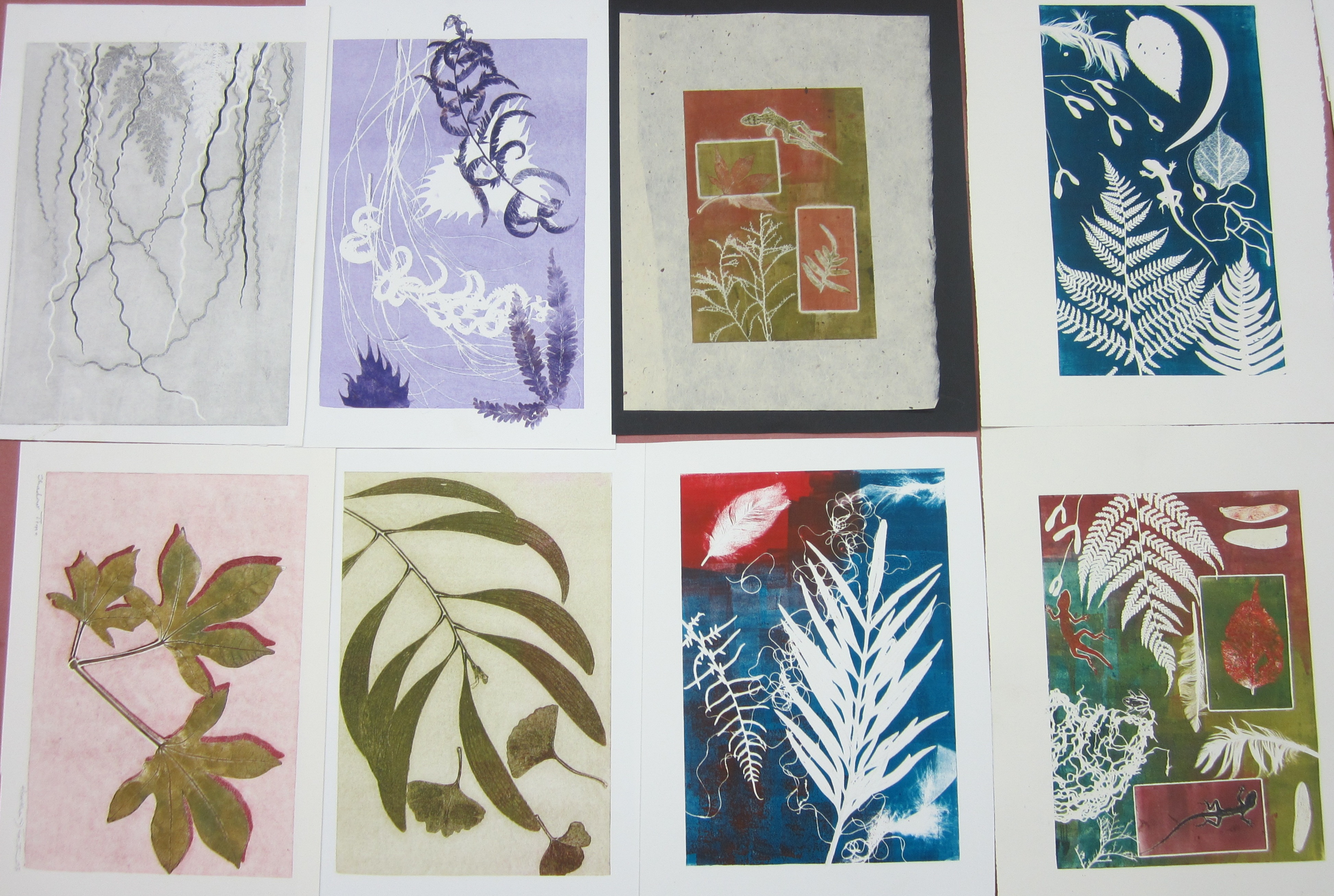 Monoprinting And Discharge