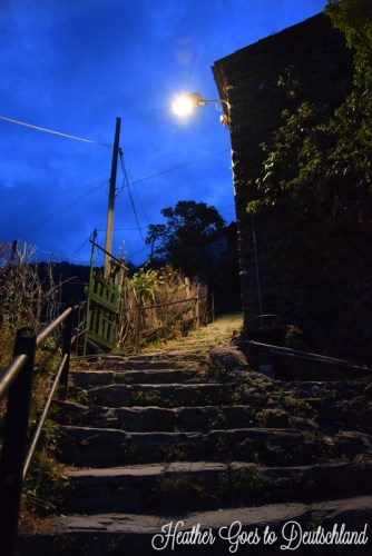 Stairs up...