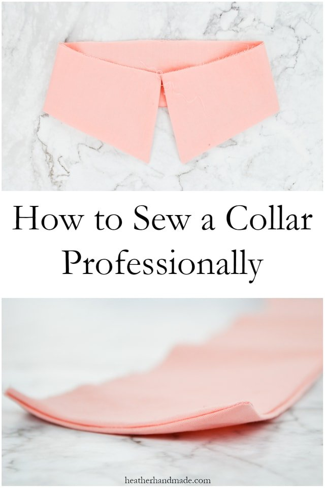 Sewing tutorial: How to sew collars that lie flat