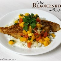 Blackened Swai with Mango Salsa