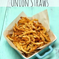 Crispy Onion Straws