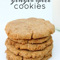 Ginger Spice Cookies - Paleo & AIP