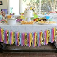 Rainbow Unicorn Art Party