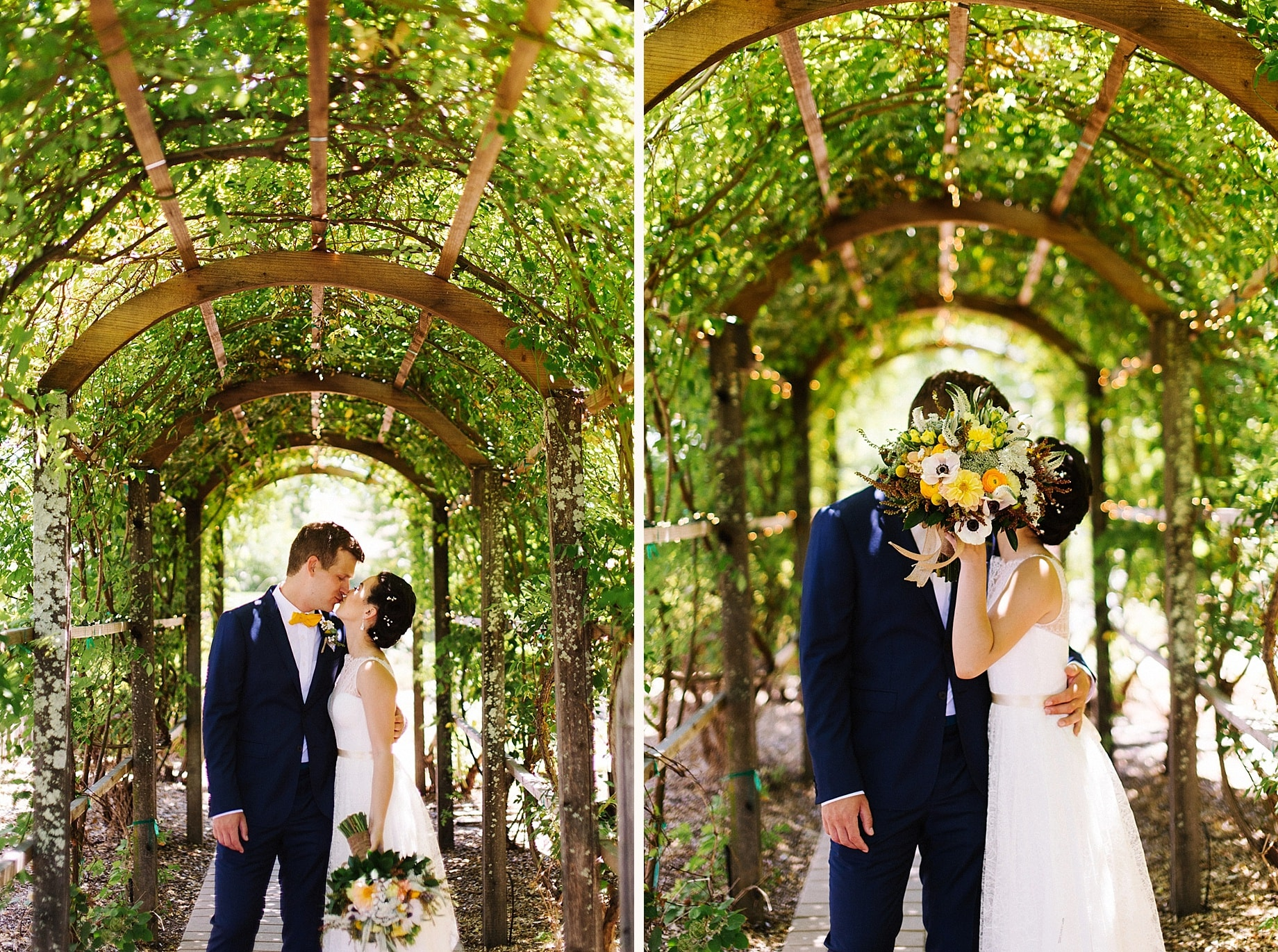 Tiffany And Drew's Wedding At The Healdsburg Country