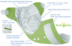 Bum Genius Cloth Diaper