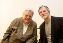 Sir Alan Parker and Philip Gibbs