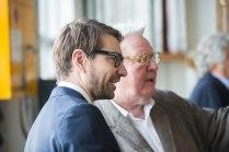 Matthew Stephenson and Sir Alan Parker