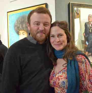 Daniel Shadbolt and Eve Pettitt