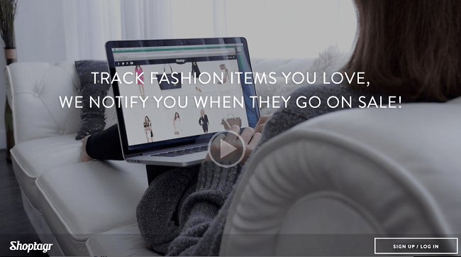 Shoptagr app lets you know when your favorite fashion finds go on sale.