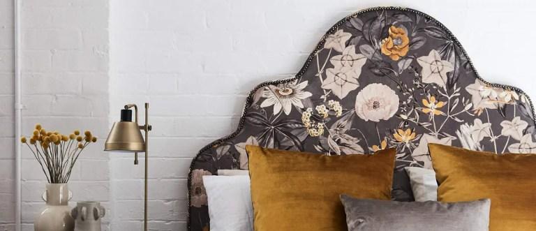 Heatherly Design Giselle bedhead Sydney showroom
