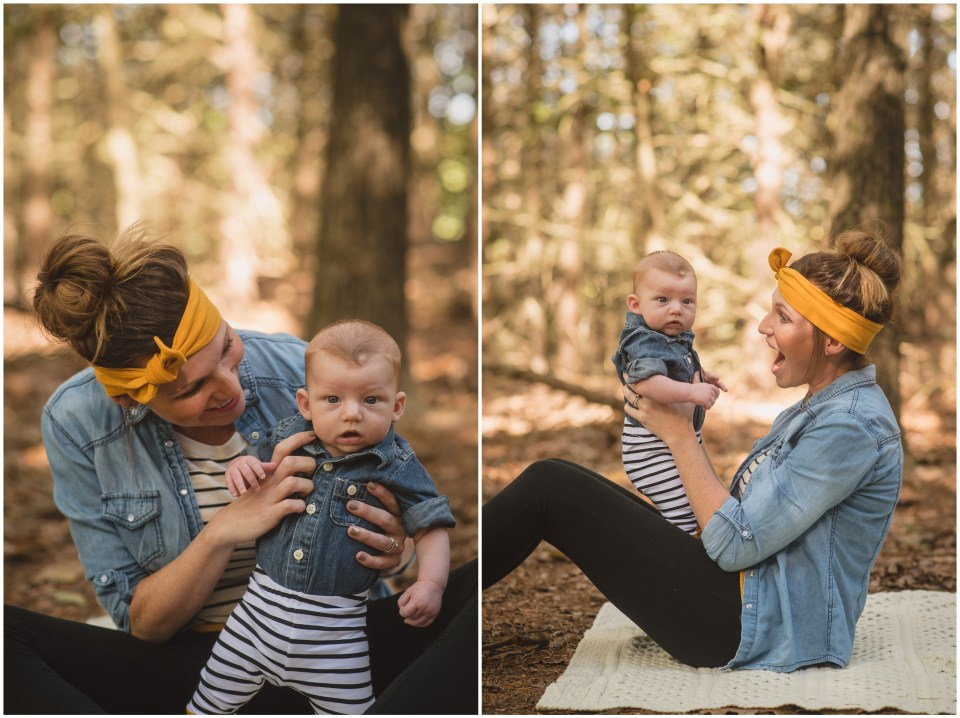 mommy and me session, south jersey, new jersey, washington lake park, 3 months,