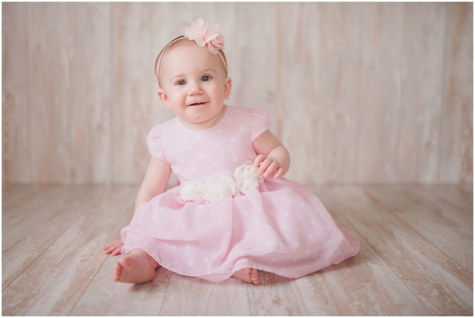 south jersey children photographer, neutral, baby girl, first birthday