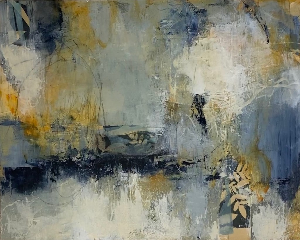 Abstract painting Summer Dream