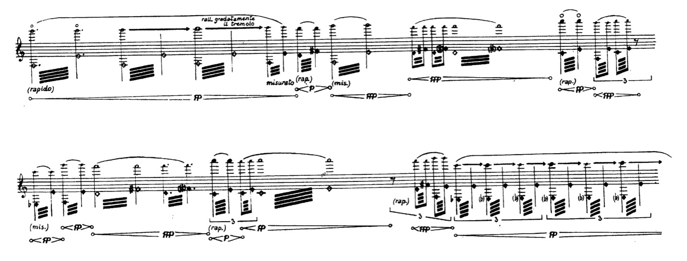 Quiet) Multiphonic Trills for Bass Clarinet | heather roche