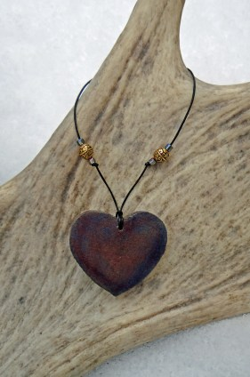 Steampunk Heart Necklace 006