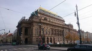 Prague Opera House. Pic: Caitlin Courtney.