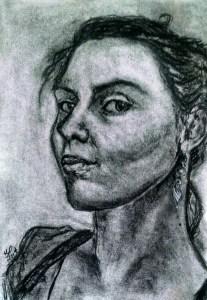 Self Portrait by Heather Scott