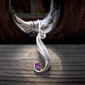 mitsuro amethyst necklace