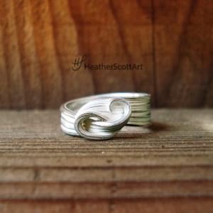 wave ocean ring