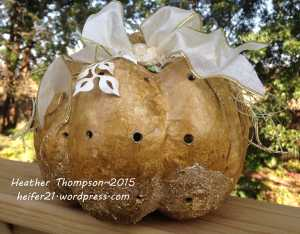 gold Pumpkin
