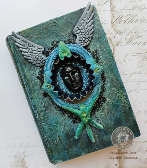 Relics Altered Book