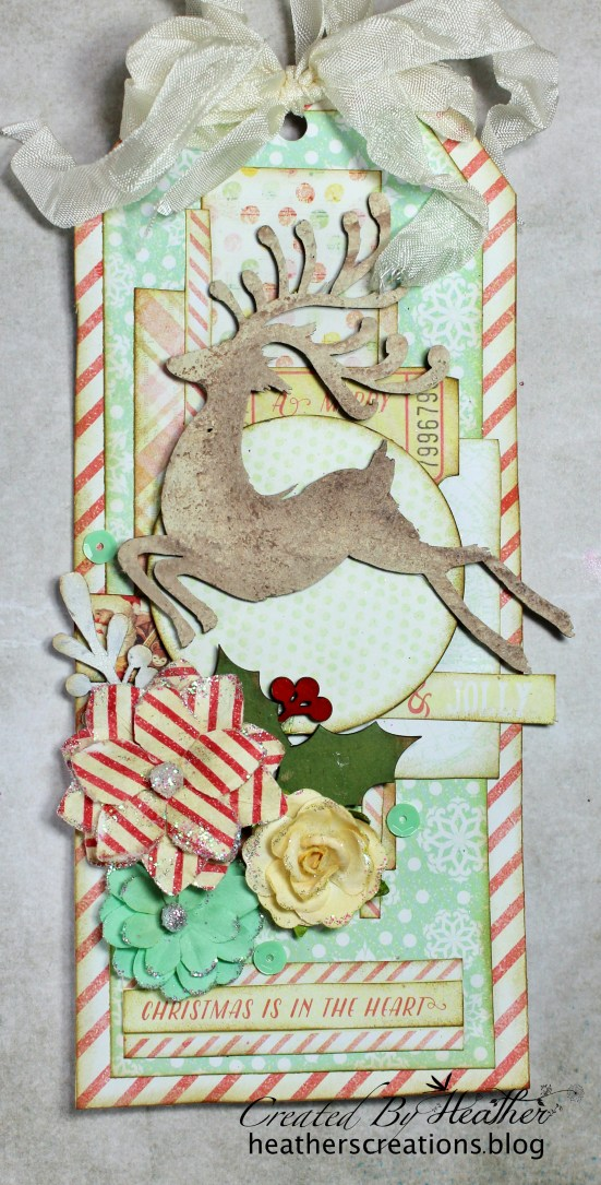 CE Reindeer Card and Tag 3