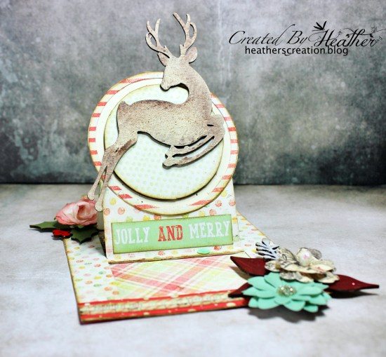 CE Reindeer Card and Tag 5