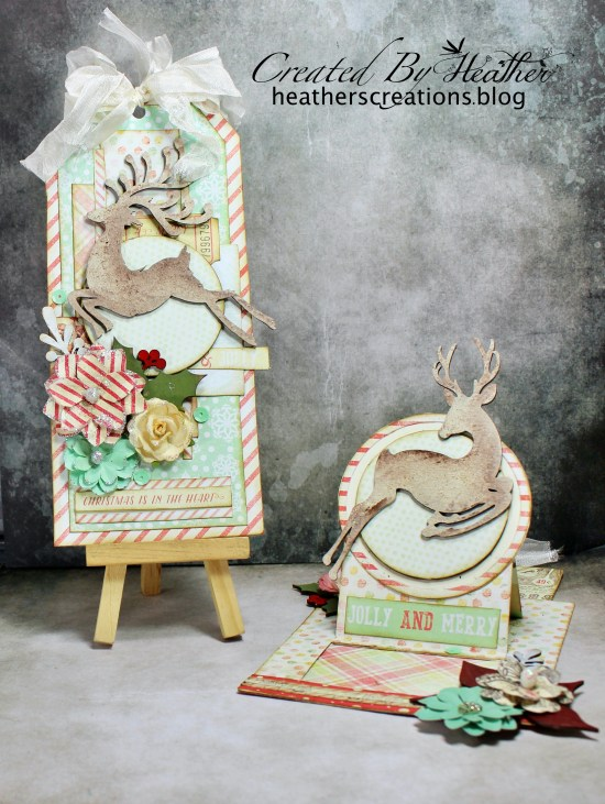 CE Reindeer Card and Tag