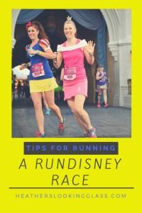 tips for running a rundisney race