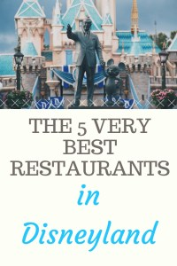 best Disneyland restaurants