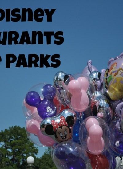 Top 5 Disney Restaurants in the Parks
