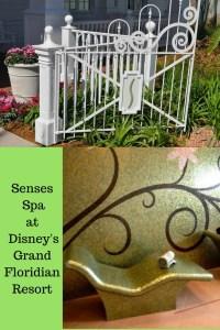 senses spa at Disney's Grand Floridian resort and spa