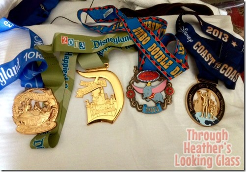 dumbo medals runDisney