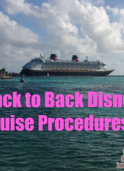 Back to Back Disney Cruising