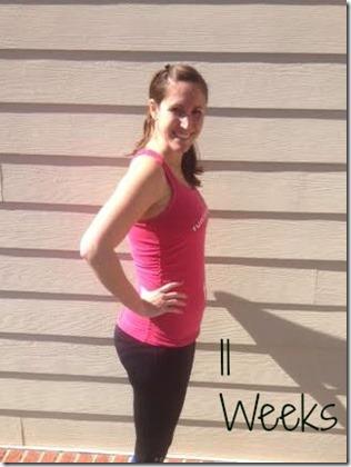11weeks bump