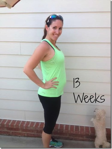 13weeks bump3