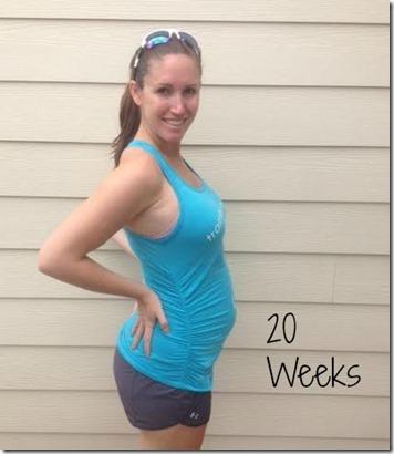 20weeks bump