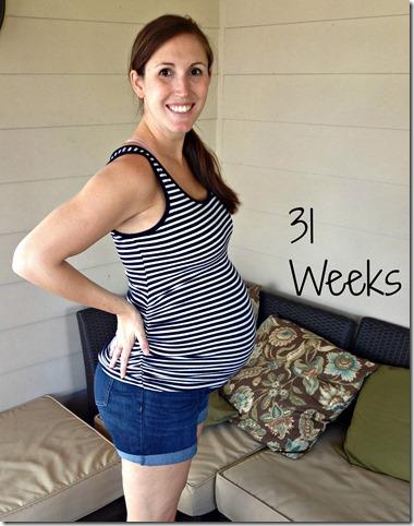31weeks bump