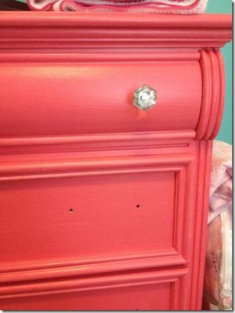 dresser pink