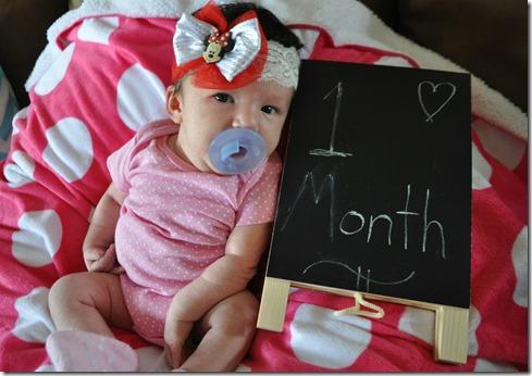 EK one month2