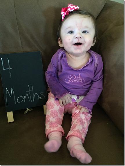 emma kate 4 months