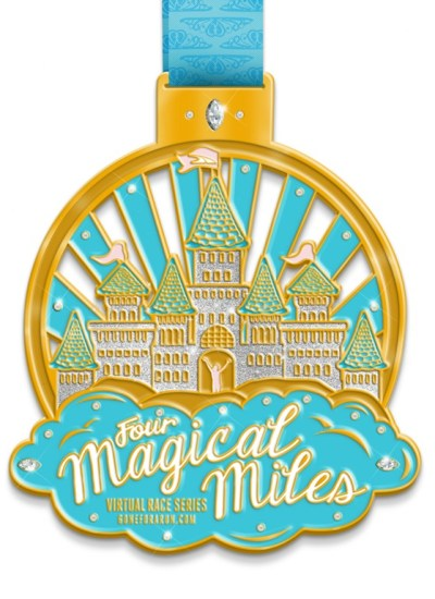 Four Magical Miles Virtual Race