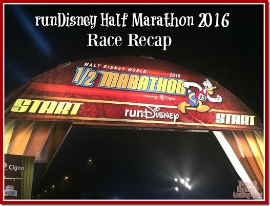 runDisney half marathon