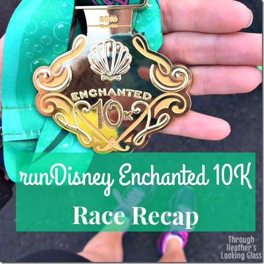 rundisney enchanted 10k race recap